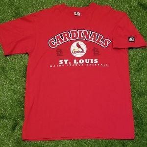 1998 St Louis Cardinals Starter Shirt